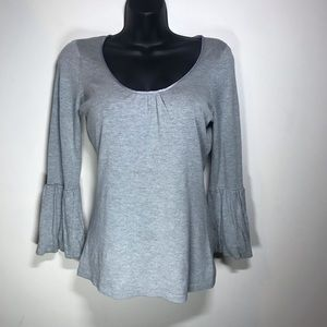WHITE HOUSE BLACK MARKET Scoop Neck Top, Size XS